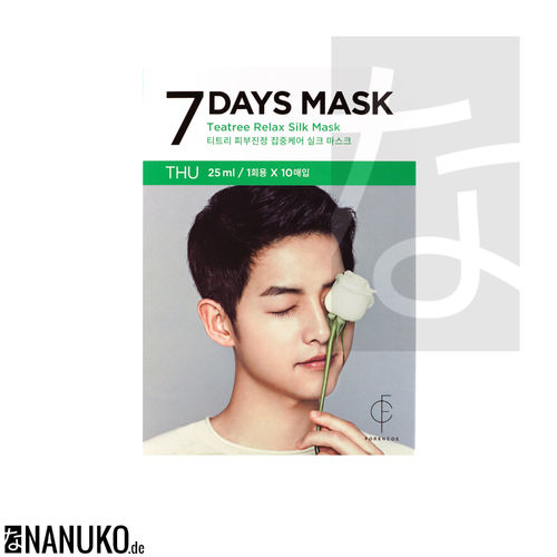Forencos 7 Days Mask Thursday Teatree