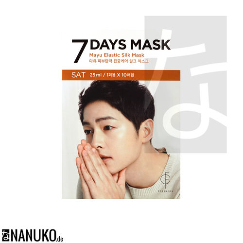 Forencos 7 Days Mask Saturday Mayu Elastic