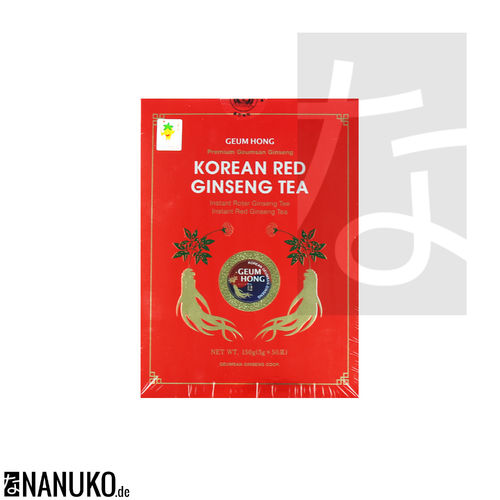 Geum Hong Red Korean Ginseng Tea 150g