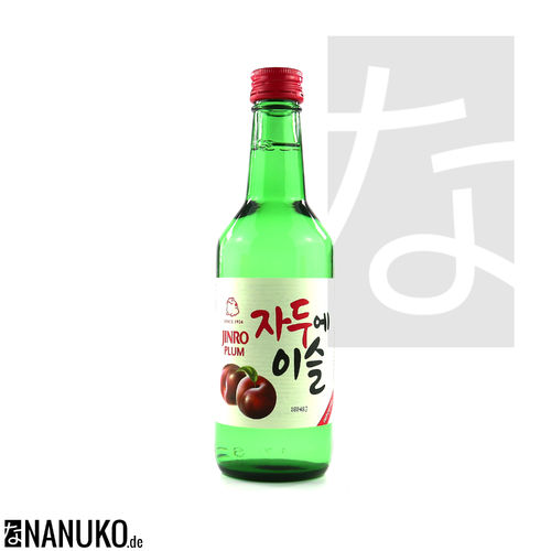Chamisul Soju Plum 360ml (korean Ricewine)