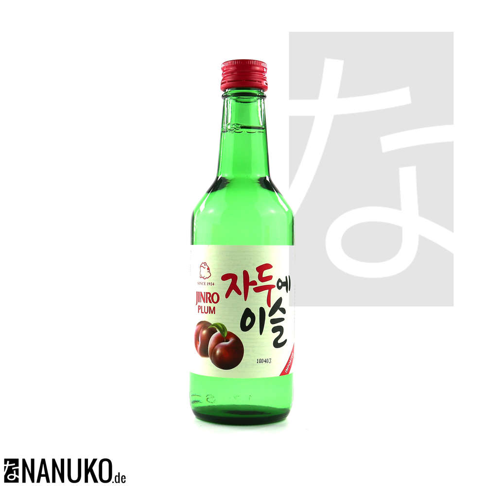Chamisul Soju Plum 360ml Buy Korean Ricewine Soju Online