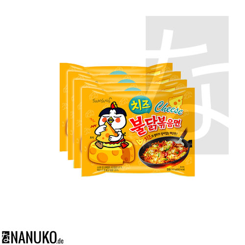 Samyang Buldak Bokkeummyeon Cheese 560g