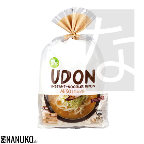 All Groo Instant Udon Nudel Miso 690g