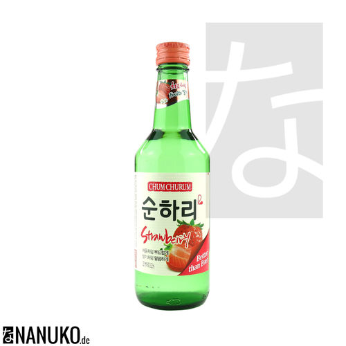 Chum-Churum Soju Strawberry 360ml (korean Ricewine)