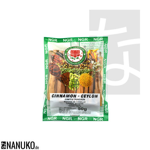 NGR Cinnamon Sticks 50g