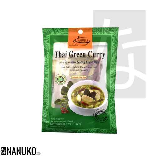 Aromax spice mixture for Green Curry 77g