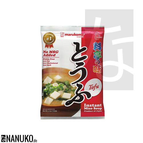 Marukome Instant Miso Soup with Tofu