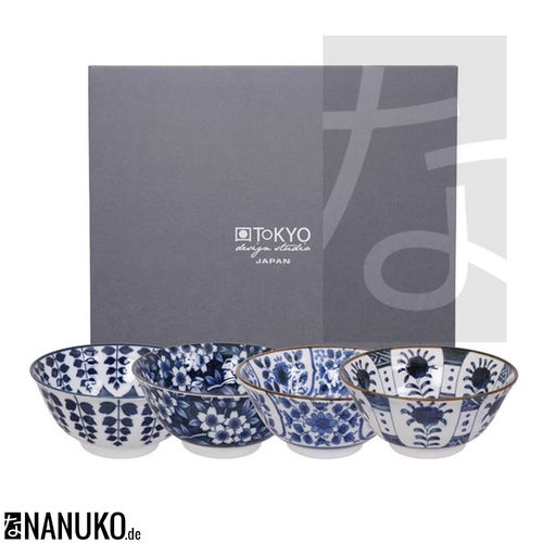 Tayo Bowl Set 14.8x7cm (4Pcs)