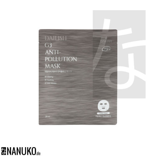Dailish G3 Anti- Pollution Mask 28ml
