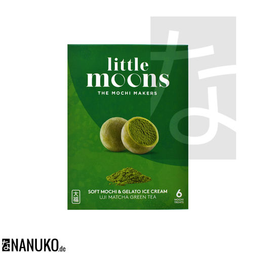 Little Moon Matcha Green Tea Mochi Ice