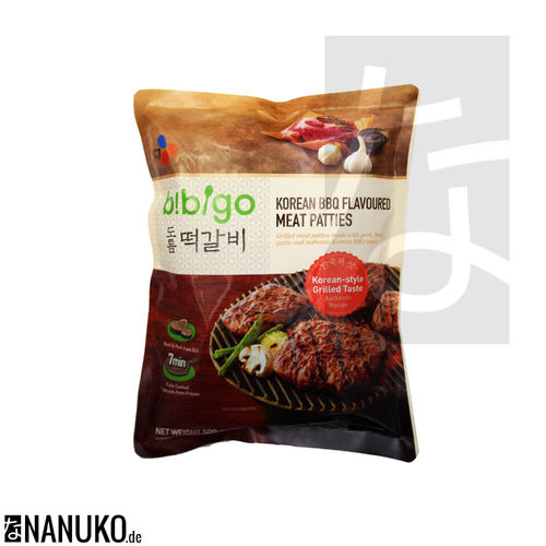 CJ Bibigo grilled meatpatties Korean BBQ flavor