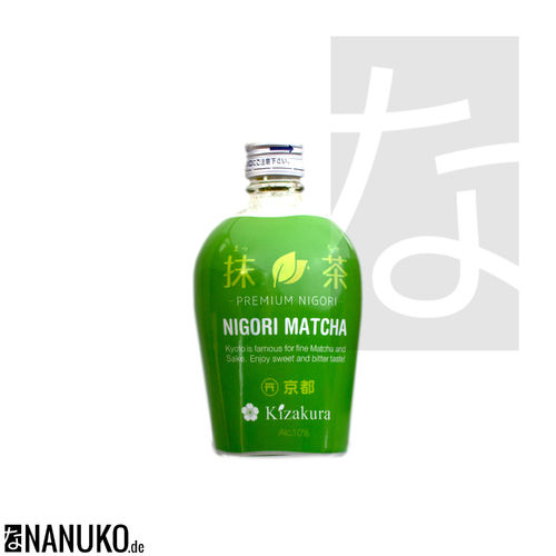 Kizakura Matcha Nigori Sake from Japan 300ml