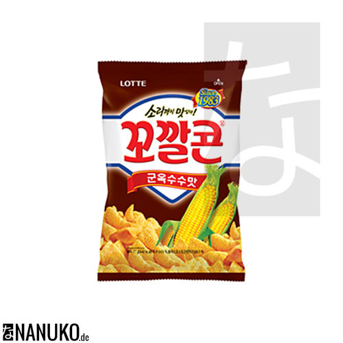 Lotte Kokalcorn Corn Chips BBQ (korean Cracker)