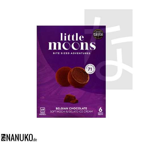 Little Moon Vegan Chocolate Mochi Ice