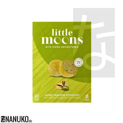Little Moon Honey-Roasted Pistachio Mochi Ice