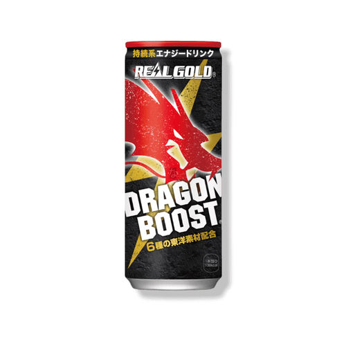 Real Gold Energy Drink Dargon Boost (japanischer Energydrink)