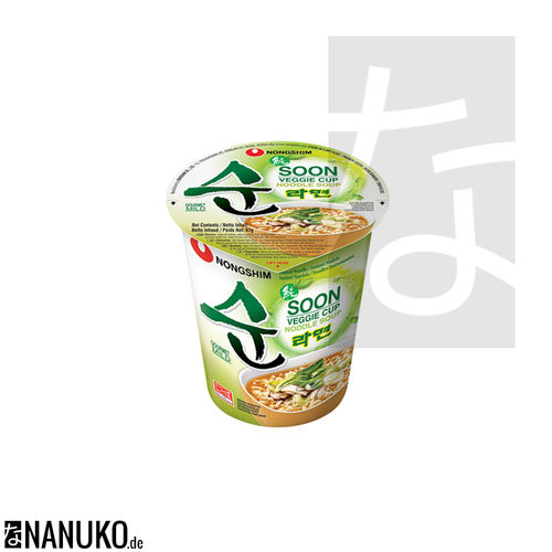 Nongshim Veggie Instant Cup Nudel 67g