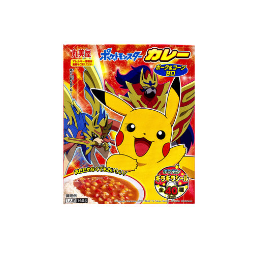Marumiya Pokemon Instant Curry (japanese curry)