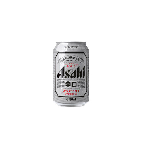 Asahi Super Dry in Dose 330ml (Bier)