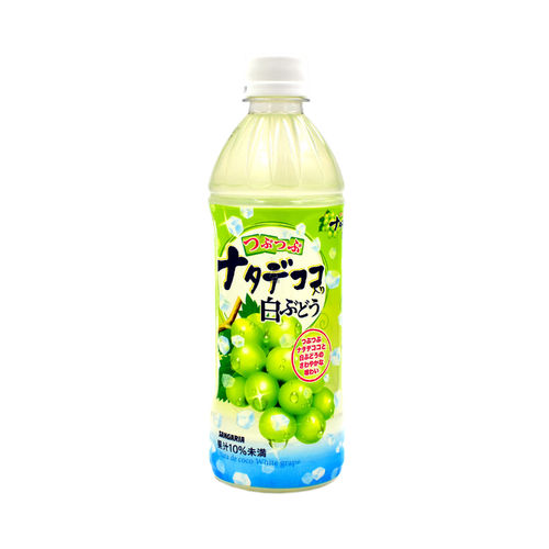 Sangaria Tsubu-Tsubu Nata De Coco & White Grape 500ml