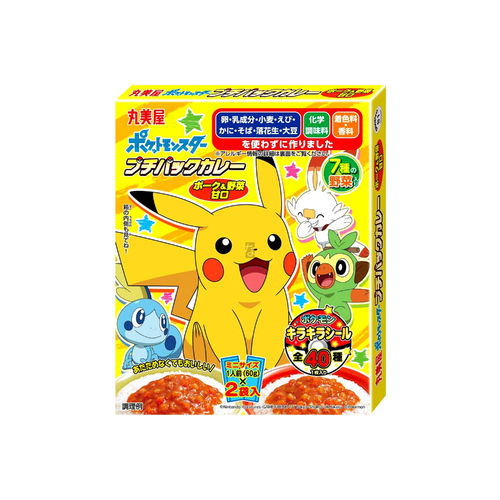 Marumiya Pokemon Instant Curry MIni 2x60g (japanese curry)
