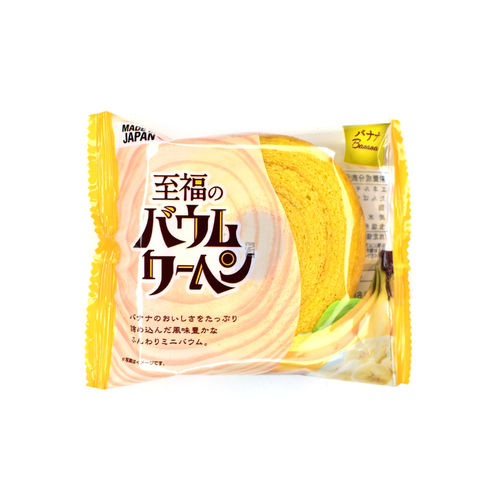 Shifuku-No Baumkuchen Banana 50g
