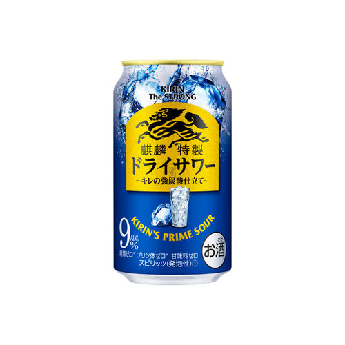 Chuhai Kirin The Strong Prime Sour Trocken 350ml