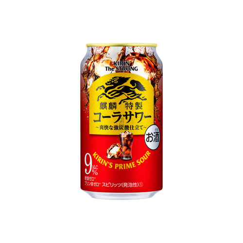 Chuhai Kirin The Strong Prime Sour Coke 350ml