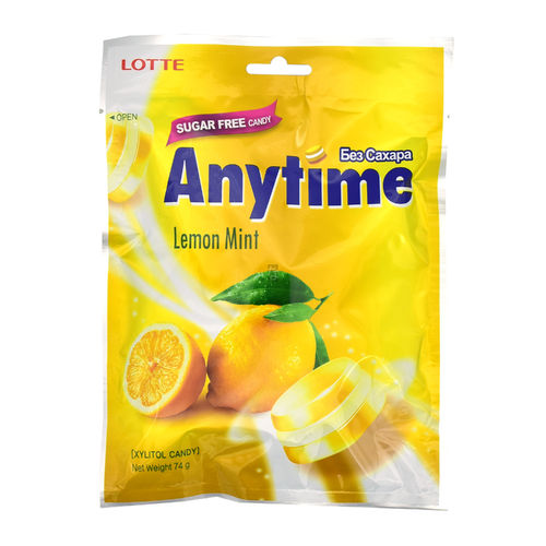Lotte Anytime Lemon 74g