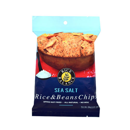 Rice Balance Rice & Bean Chips Sea Salt 30g