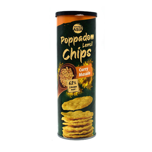 Bon Asia Poppadom Linsenchips Curry Masala 70g