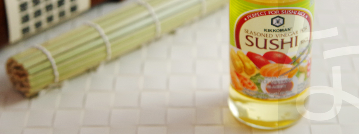 Sushi Vinegar, Rice Vinegar - Shop online at nanuko.de