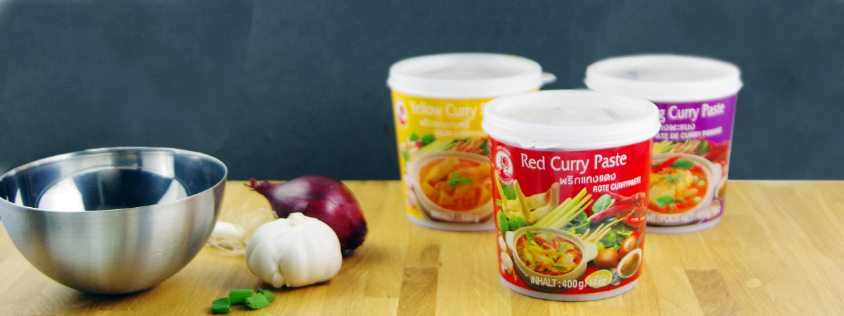 Thai Currypaste - nanuko.de onlineshop for thai currypaste