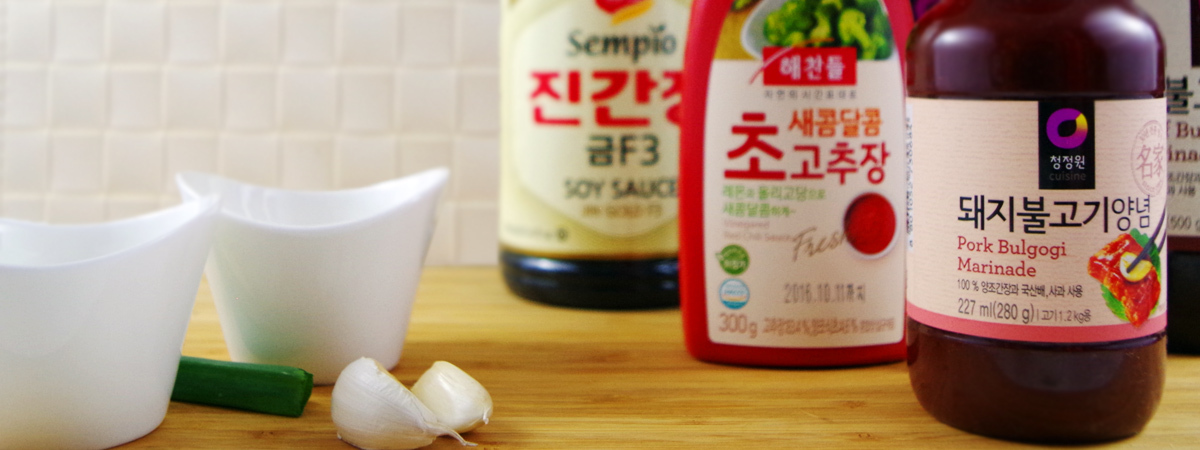 Korean Sauces - nanuko.de Onlineshop for korean Sauces, Bulgogi, Galbi and Bibim